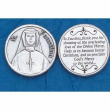 ST FAUSTINA POCKET COIN