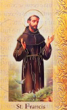 ST FRANCIS ASSISI BIO BOOKLET