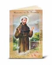 ST FRANCIS NOVENA & PRAYERS BOOKLET