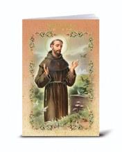 SPANISH ST FRANCIS OF ASSISI NOVENA & PRAYERS