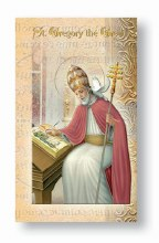 ST GREGORY THE GREAT BIO BOOKLET