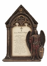 ST MICHAEL PHOTO FRAME