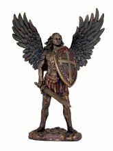 ST MICHAEL STATUE WITHOUT THE DEVIL