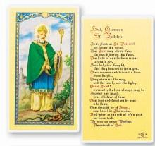 HAIL GLORIOUS ST PATRICK PRAYER CARD
