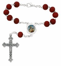 ST THERESE AUTO ROSARY