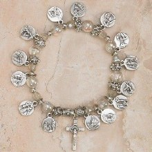 14 STATIONS OF THE CROSS BRACELET