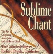 SUBLIME CHANT CD