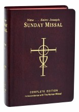 SUNDAY MISSAL FLEX BINDING RED