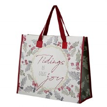 TOTE BAG - TIDINGS OF GREAT JOY