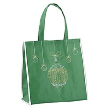JOY ORNAMENT CHRISTMAS TOTE BAG