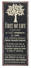 TREE OF LIFE IRON PLAQUE