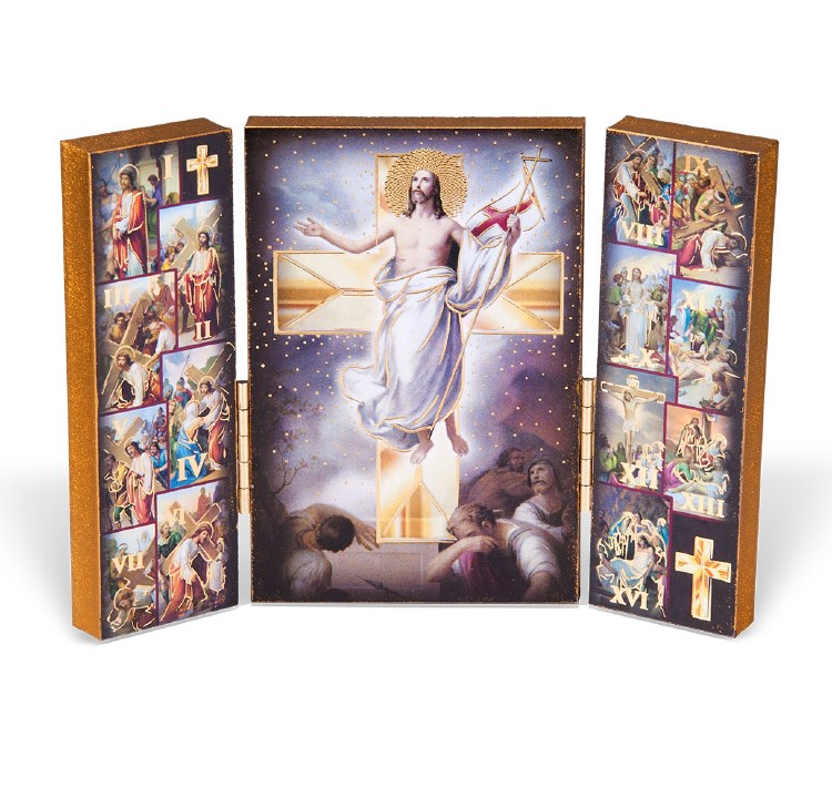 Way of the Cross Triptych