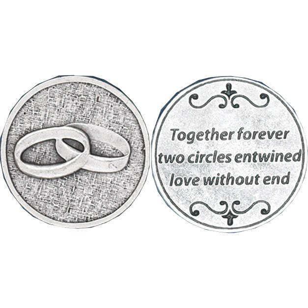 UNITY WEDDING/ANNIVERSARY POCKET COIN
