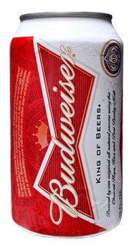 Budweiser 6 x 16 oz cans