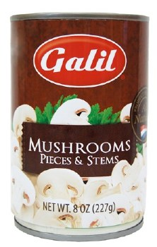 Galil Mushrooms Pieces & Stems 8 oz