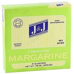 J & J Margarine 16 oz