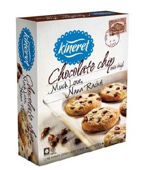 Kineret Cookie Dough Chocolate Chip 12 oz