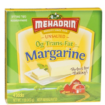 Mehadrin Margarine 1 lb