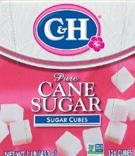 C & H  Sugar Cubes 1 Lb