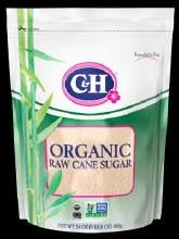 C & H  Organic Sugar 24 oz