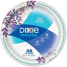 Dixie Everyday Plates 48 count