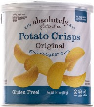 Absolutely Potato Crisps Mini Original   1.41 oz