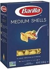 Barilla Medium Shells 1 lb