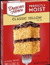 Duncan Hines Classic Yellow 15.25 oz