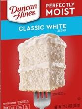 Duncan Hines Classic White 15.25 oz