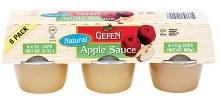 Gefen Apple Sauce 6x 4 oz