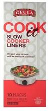 Geula Crock Pot Liners 10 bags