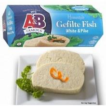 Ab Gefilte Fish White & Pike 20 oz