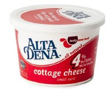 Alta Dena Cottage Cheese Half pint