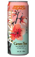 Arizona Ginseng & Peach Tea 23 oz