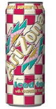 Arizona Iced Tea Raspberry 23oz