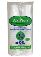 Axxion Cups 8oz 36 cups