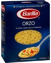 Barilla Orzo 1 lb