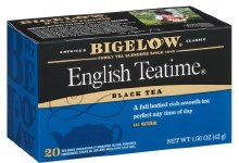 Bigelow English Teatime 20 count