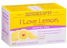 Bigelow I Love Lemon Tea 20 count