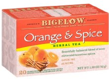 Bigelow Orange Spice Tea 20 count