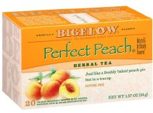 Bigelow Perfect Peach Tea 20 count