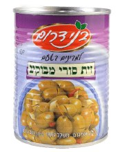 B.Darom Cracked Suri Olives 19.7 oz