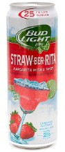 Bud Light Straw-ber-rita 25 oz