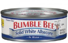 Bumblebee Solid Albacore Tuna in Water   5 oz