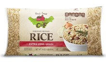C & F  Brown Rice 1 Lb.
