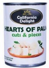 Cali. D. Hearts Of Palm Cut 14 oz
