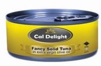Cali. D. Solid Tuna Olive Oil 6 oz