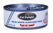 Cal. D.  Albacore Tuna Oil 6 oz