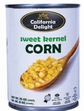Cali.  Whole Corn Kernels 15 oz