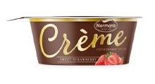 Normans Greek Creamy Strawberr 2 Lb